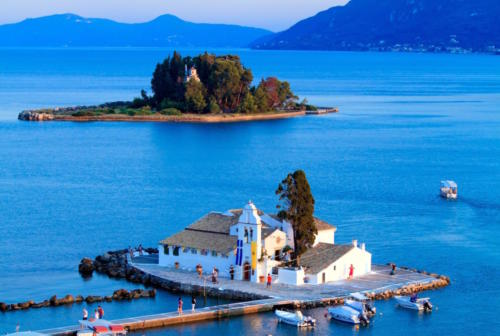 corfu-island-greece-pontikonisi